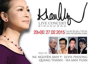 Liveshow Khánh Ly - Live Concert in Bình Dương