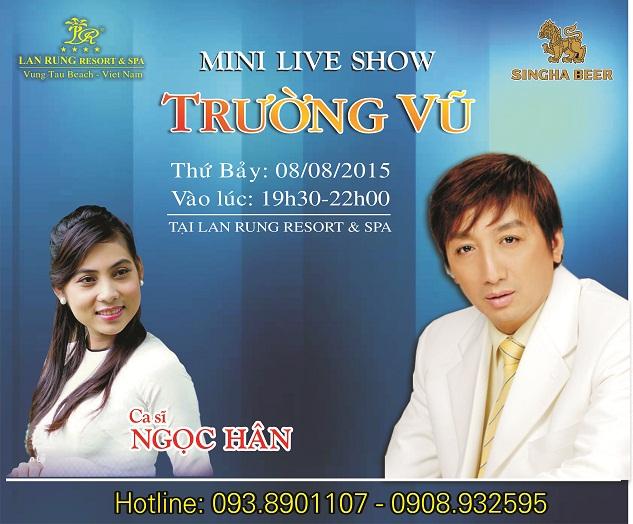 Mini liveshow Trường Vũ
