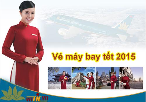 Đặt vé máy bay tết 2015 giá rẻ Vietnam Airlines