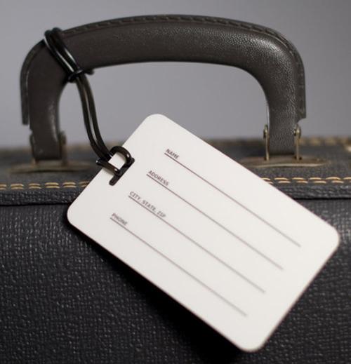 Luôn có tên để hạn chế thất lạc hành lý