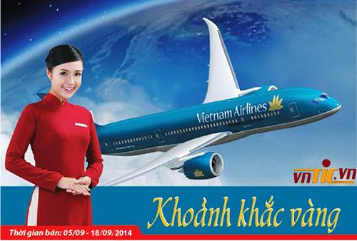 Khoảnh khắc vàng 13 của Vietnam Airlines