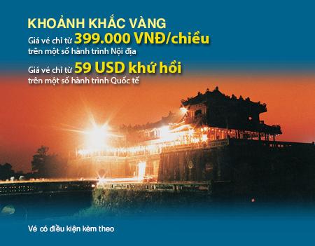 Vietnam Airlines khuyến mãi tháng 08/2014