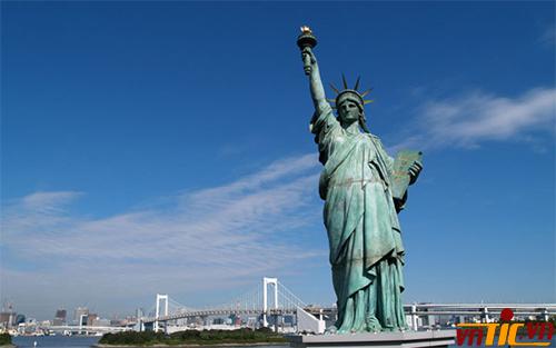 Nữ thần tự do biểu tượng của nước Mỹ