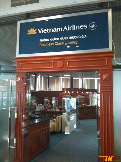 Phòng chờ dành cho hành khách mua vé hạng thương gia