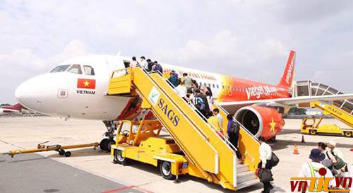 Vé máy bay tết 2015 Vietjet đã được tung ra