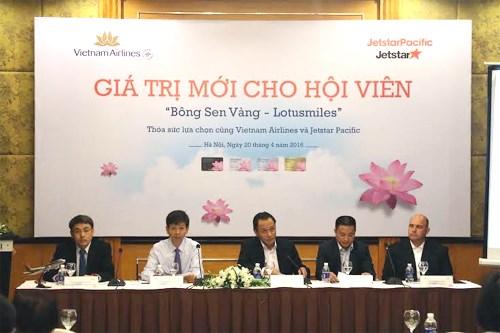 Vietnam Airlines và Jetstar hợp tác Bông Sen Vàng